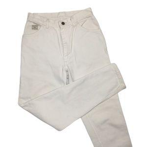 Wrangler | Vintage White High Rise Mom Jeans